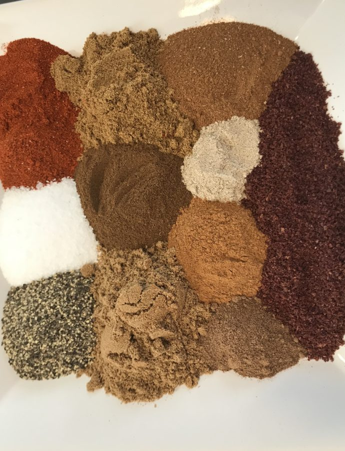 Homemade Arabic Spice Mix (Baharat)