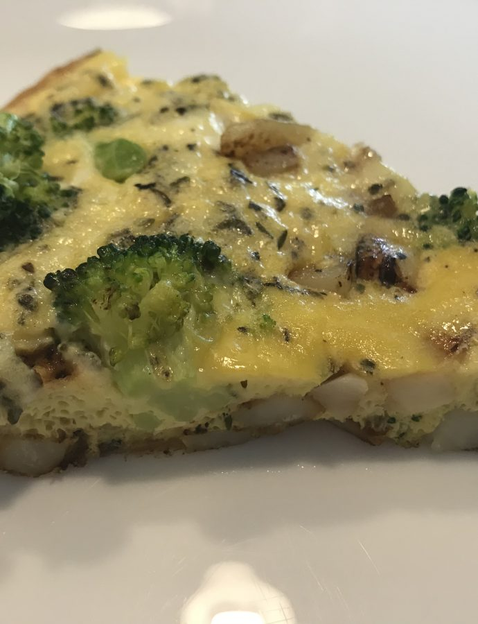 Potato And Broccoli Frittata
