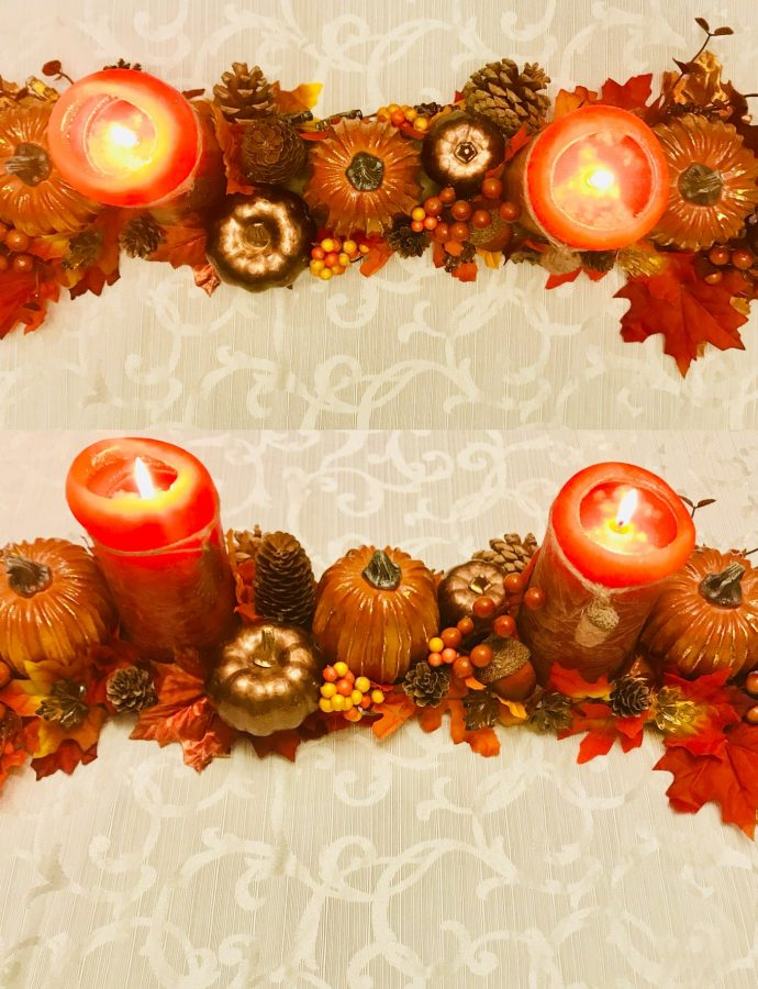 DIY Fall Centrepiece!