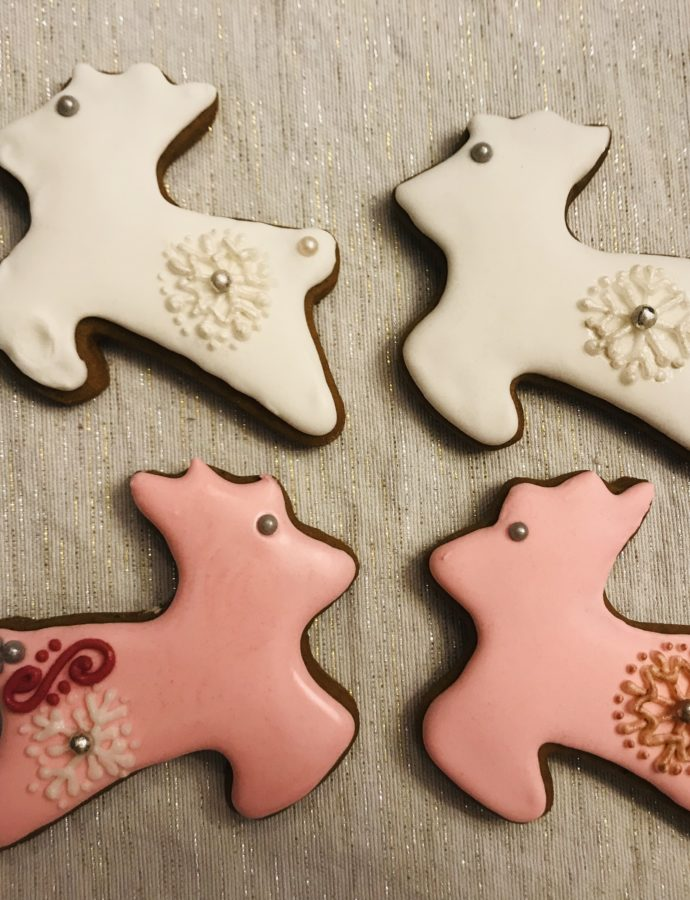 Deer Christmas Cookies