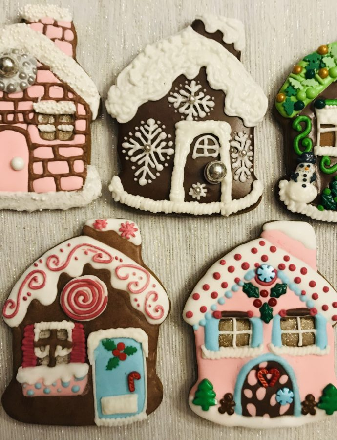 Gingerbread House Cookies!