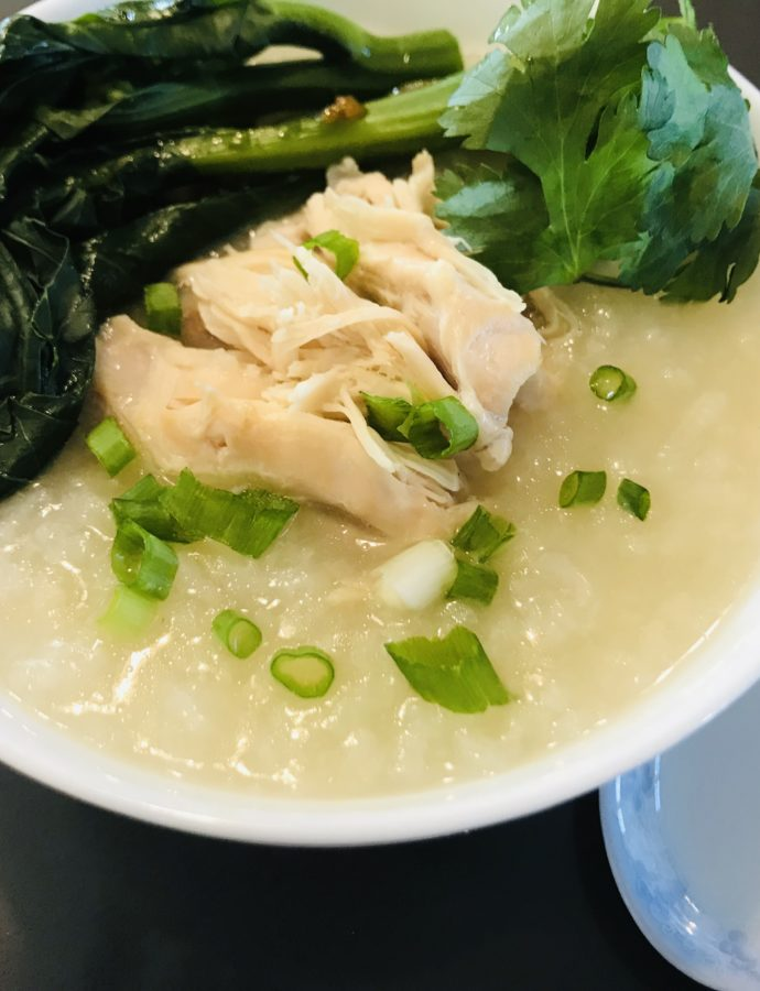 Instant Pot Chicken Congee!