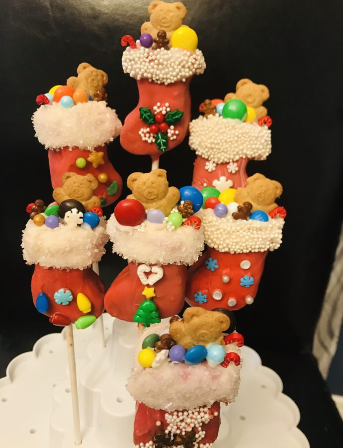 Stuffed Stocking Cake Pops